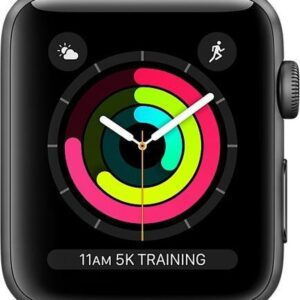Apple Watch Series 3 - Smartwatch - 42mm - Spacegrijs (0190198807021)
