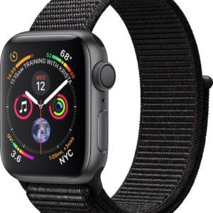 Apple Watch Series 4 GPS 40mm Grey Alu Black Sport Loop (0190198914774)