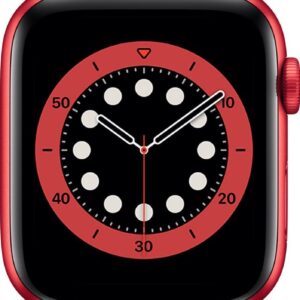 Apple Watch Series 6 - 44 mm - Rood (0190199884366)