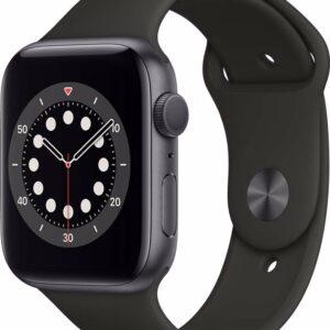 Apple Watch Series 6 - 44 mm - Spacegrijs (0190199883604)