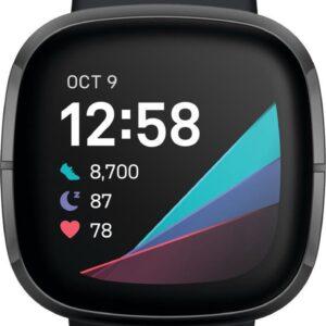 Fitbit Sense - Smartwatch - Zwart (0811138036980)