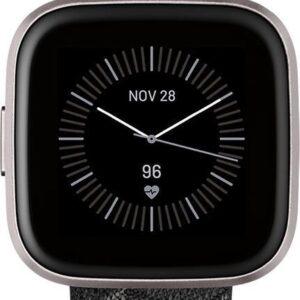 Fitbit Versa 2 SE - Smartwatch - Gewoven grijs (0811138036591)