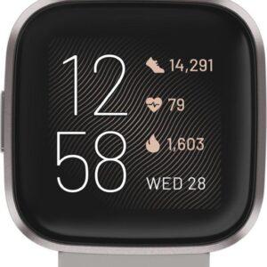 Fitbit Versa 2 - Smartwatch - Steengrijs (0811138036713)