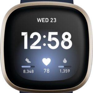 Fitbit Versa 3 - Smartwatch - Blauw (0811138039769)