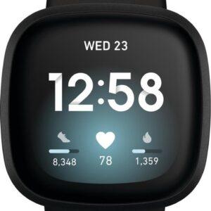Fitbit Versa 3 - Smartwatch - Zwart (0811138039813)