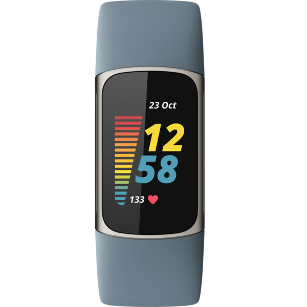 Fitbit Charge 5 Blauw/Zilver (0810038857220)