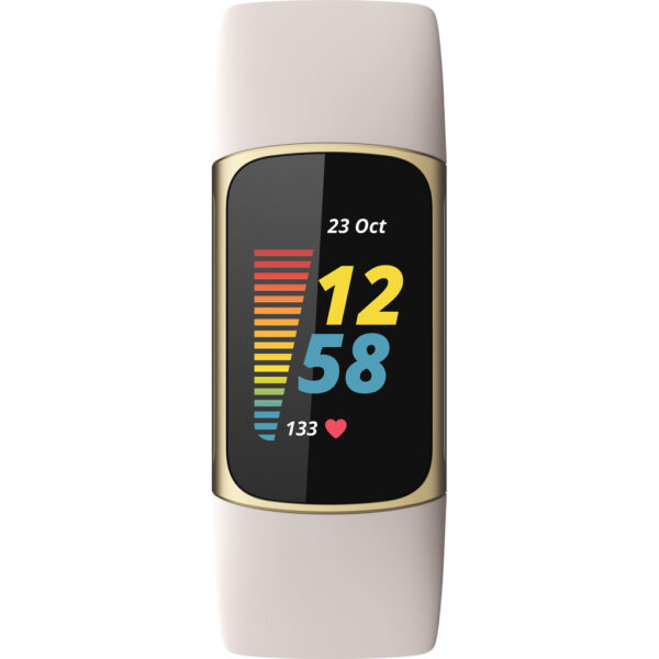 Fitbit Charge 5 Wit/Goud (0810038855868)