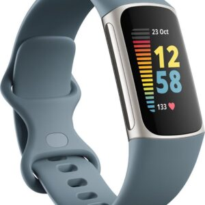 Fitbit Charge 5 - Activity Tracker - Staalblauw (0810038857220)